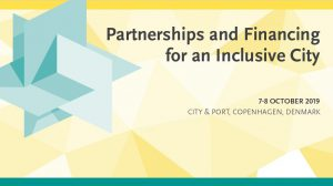 Partnerships and Financing for an Inclusive City